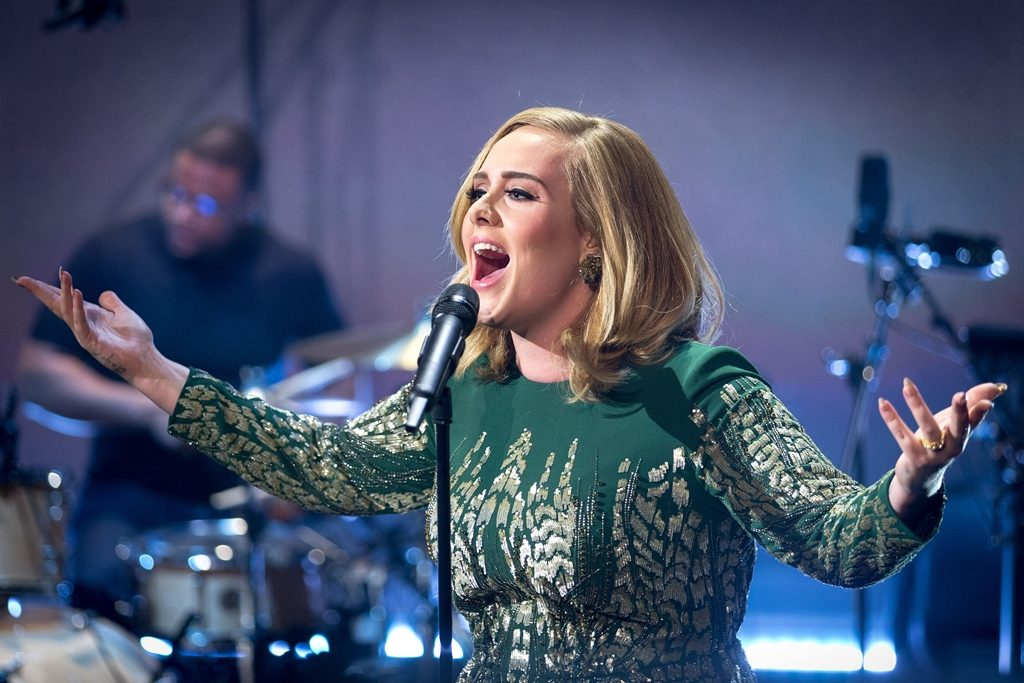 Picture Shows: Adele