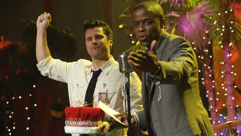 "PSYCH -- ""Murder Anyone Anyone Bueller"" Episode 3001 -- USA Network Photo: Alan Zenuk"